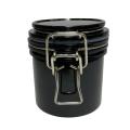 Баночка черная термос для хранения клея
