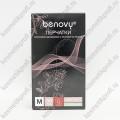 Перчатки нитриловые зеленые М Benovy  (50 пар)