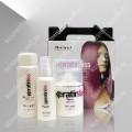 Кератиновый набор для домашнего глубокого увлажнения и восстановления волос NIRVEL PACK DEEP MOISTUR