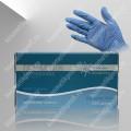 Перчатки нитриловые голубые M White line №50