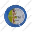 Бумага для депиляции с перфорацией голубой рулон