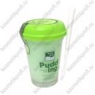 Ночная маска-пудинг с зеленым чаем