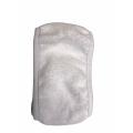 Повязка махровая для головы белая 62 см горизонтальная липучка