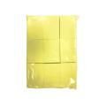 Салфетки безворсовые желтые