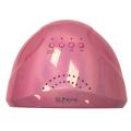LED лампа SUN ONE розовая металик 48 вт