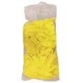 Шапочка медицинская, одноразовая, из нетканого материала типа «Шарлотта» арт.Шар-10/1р-Ж. (желтая)10