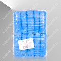 Бахилы п/э голубые 0,03 № 50