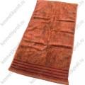 Коричневое 40*70 полотенце махровое