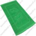 Полотенце х/б ножки 35*60 зеленый