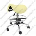 Стул массажиста МА-01 СТ-7КА бледно желтый