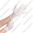 Перчатки нитриловые белые S Benovy