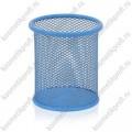 Стакан-подставка металл голубой
