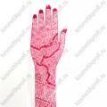 Трафареты для мехенди (рука)
