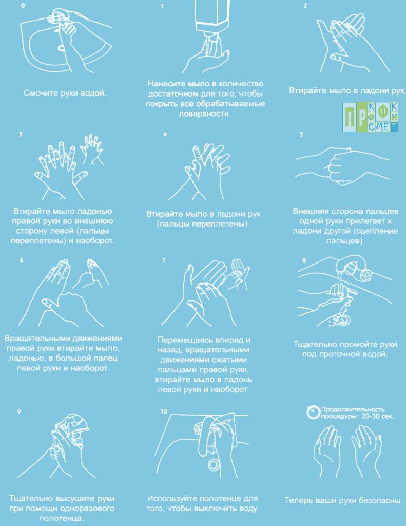 инструкция для санобработки в общепите